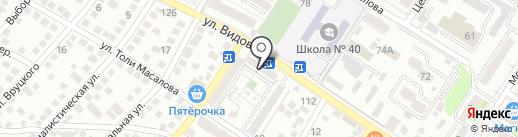 Мечта на карте Новороссийска