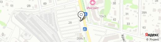 Комбинат благоустройства на карте Домодедово