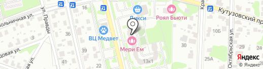 Инстар на карте Домодедово