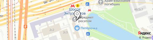 АвиСофт на карте Москвы