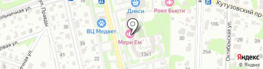 Акрополь на карте Домодедово