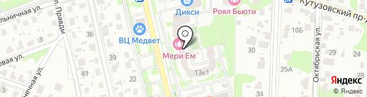 Гарант Полис на карте Домодедово