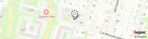 Электросеть, МУП на карте Домодедово
