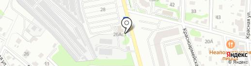 Теплосеть, МУП на карте Домодедово