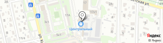 Атак на карте Домодедово