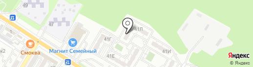 ПрофБезопасность на карте Новороссийска