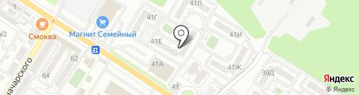 КБ Кубань кредит на карте Новороссийска