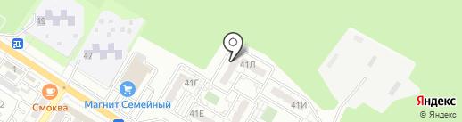 Массажный кабинет Татьянич О.В. на карте Новороссийска