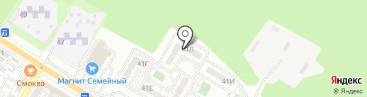 Beauty club на карте Новороссийска