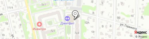 Con Cord на карте Домодедово