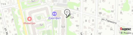 Проектная мастерская №11 на карте Домодедово
