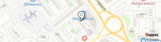Магазин профессиональной косметики на карте Мытищ