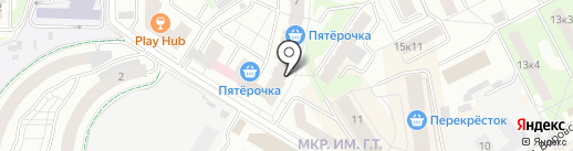Коелгамрамор центр на карте Мытищ