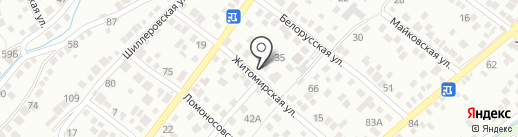 Хит FM, FM 90.3 на карте Новороссийска