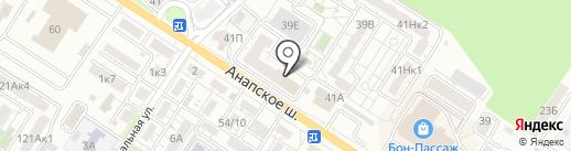 ОБД-Инвест на карте Новороссийска