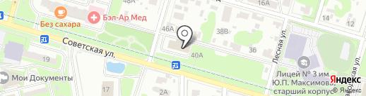 Магазин фастфудной продукции на Советской на карте Домодедово