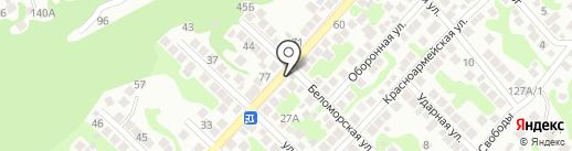 Мускат на карте Новороссийска