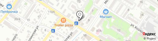 КиноLoft на карте Новороссийска