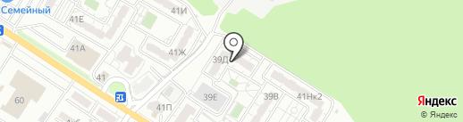 Единый центр расселения на карте Новороссийска