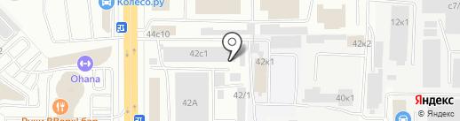 БанзайАвто на карте Мытищ