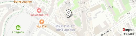Клубы дыма на карте Мытищ