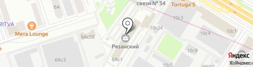 svetlet.ru на карте Москвы