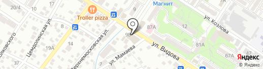Фабрика Дышащих Окон на карте Новороссийска
