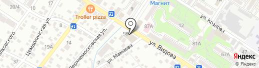 Японопапа на карте Новороссийска