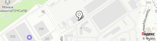 СКИЛ Трейд на карте Видного