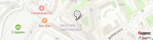 GnB на карте Мытищ
