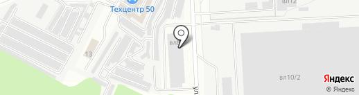 Лифтек на карте Видного