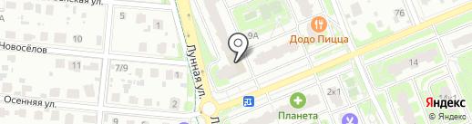 Доммама на карте Домодедово