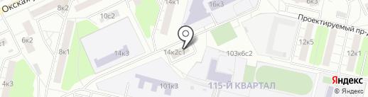 Напитки дома на карте Москвы