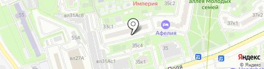 Гарант на карте Москвы