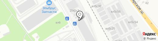 ЧелябинскСпецГражданСтрой на карте Апаринок