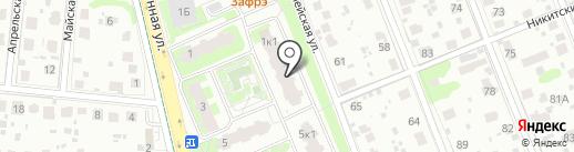 Красное & Белое на карте Домодедово