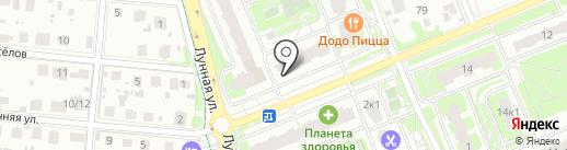 Домовенок на карте Домодедово