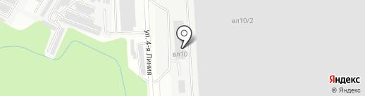 Мосмек, ЗАО на карте Видного