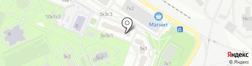 Panga на карте Москвы