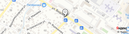 Rush на карте Новороссийска