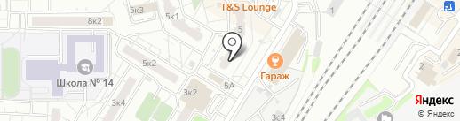 ФлеймМебель на карте Мытищ