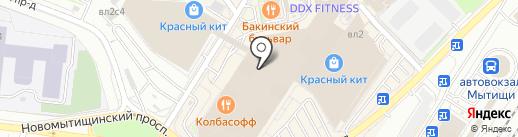 Pinacci на карте Мытищ