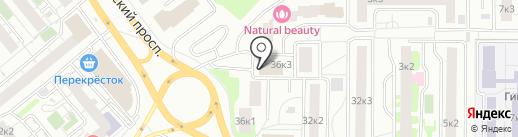 Дарго на карте Мытищ
