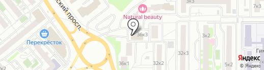 Раз ладошка, два ладошка на карте Мытищ