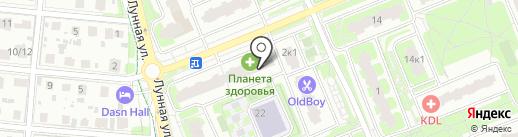 Дом-Строй на карте Домодедово