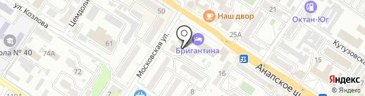 Производственная компания на карте Новороссийска