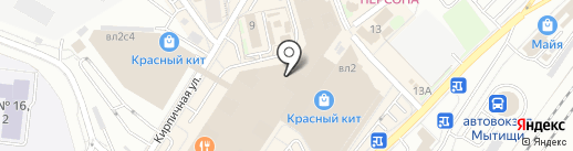 COZY HOME на карте Мытищ