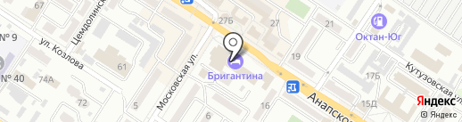 Мастерская маникюра и педикюра на карте Новороссийска