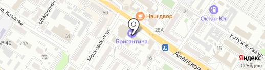 Агентство транспортных сообщений на карте Новороссийска