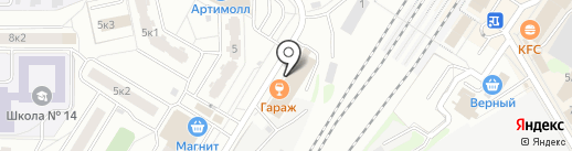 Верстак-Мастак на карте Мытищ